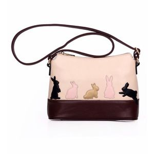 Cat and Bunny Shoulder Bag